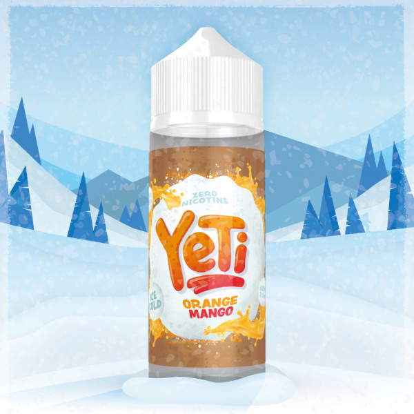 Yeti Orange Mango 100ml