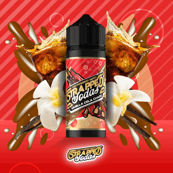 Strapped Soda Vanille Cola Chaos Aroma 30ml