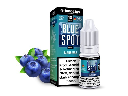 Blue Spot Blaubeer 10 ml Liquid