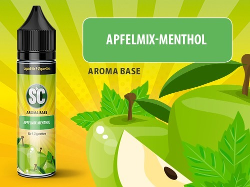 Vape Base - Apfelmix-Menthol - 50ml