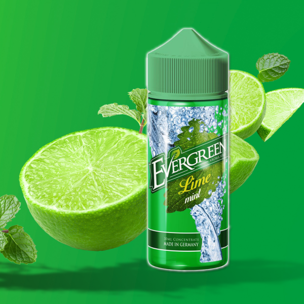 Evergreen Lime Mint Aroma 30ml