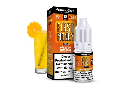InnoCigs First Money Orangenlimonade 10ml