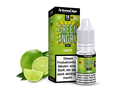 Green Angry Limette 10 ml LIquid