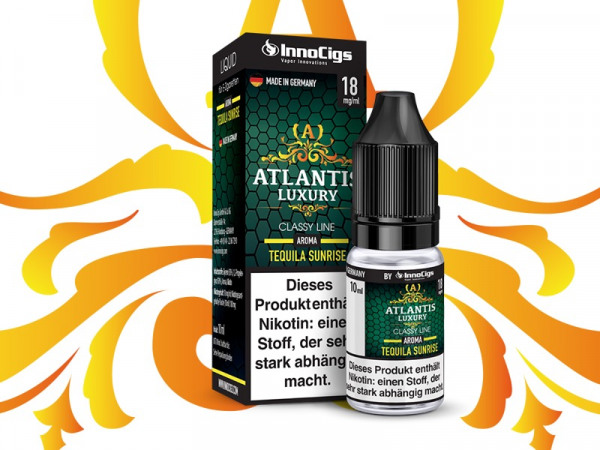 InnoCigs Atlantis Luxury Tequila Sunrise 10ml