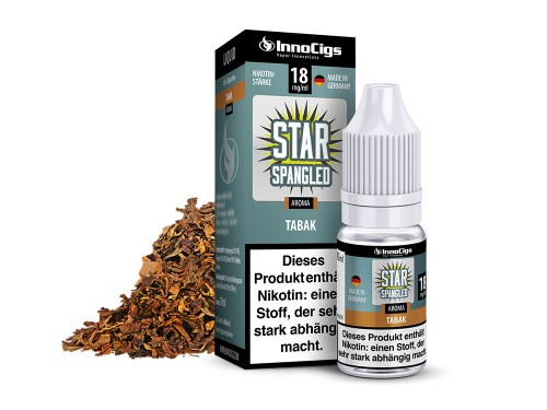 Star Sprangled Tabak 10 ml Liquid